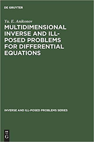 Multidimensional Inverse and Ill-Posed Problems for Differential Equations - Buscar con Google