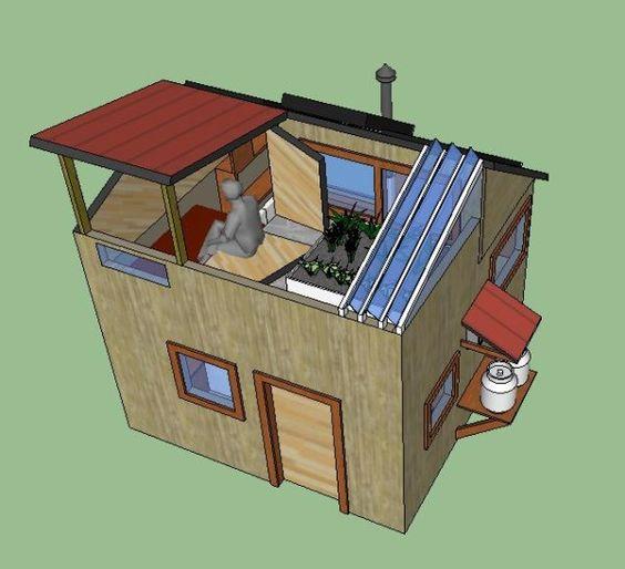 Off grid solar off grid and tiny house on pinterest for Small off grid home plans