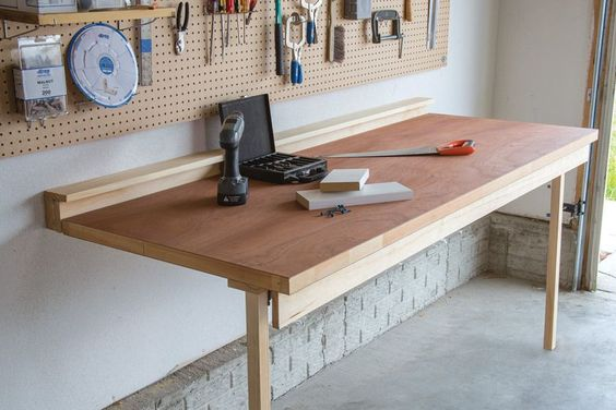Drop-Down Workbench - buildsomething.com