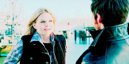 Captain Hook Emma Swan Killian Jones Colin O'Donoghue Jennifer Morrison Once Upon A Time If you take place like thanks Miriam