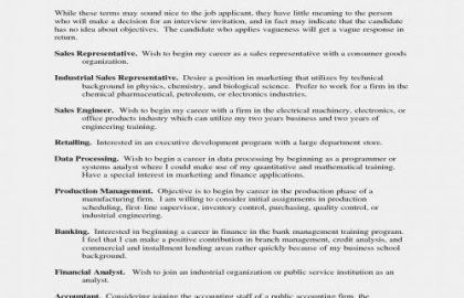 Resume For Service Industry Or Pany Resume Free Industrial