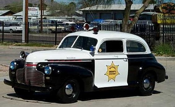 1941 Chevy Sheriffs car...