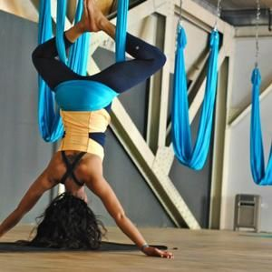 Right Side Up: AntiGravity Yoga For Stress and PTSD Recovery