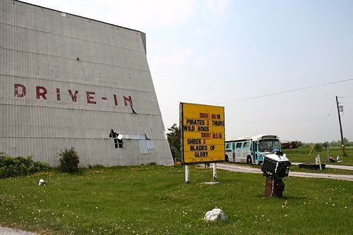 A Prince Edward County Travel Guide - Mustang's Drive-in
