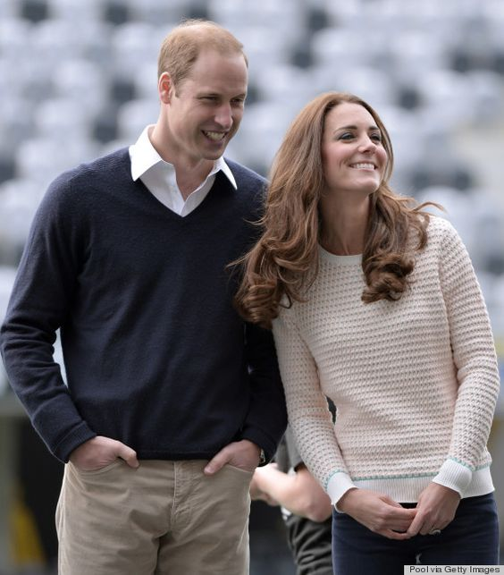 What a lovely couple!  The Duke And Duchess Of Cambridge Tour Australia And New Zealand - Day 7