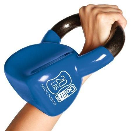 Love these Kettlebells...Much more comfortable than the round ones!