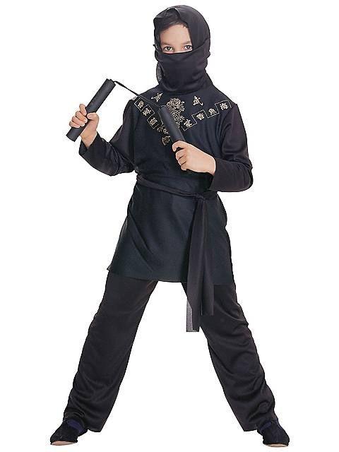 Black Ninja Child