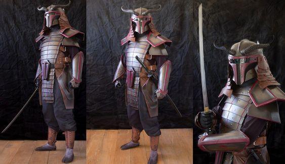 boba fett samurai