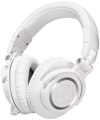 Audio Technica ATH-M50xWH DJ-Kopfh�rer f�r Studio
