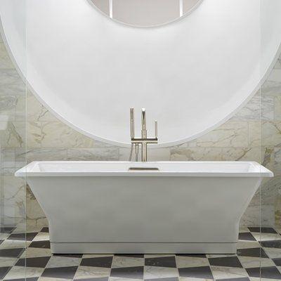Kohler Reve 67 X 36 Freestanding Soaking In 2019 Bathtub Cast