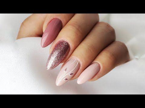 25 Soft Nail Designs Delikatne Zdobienia Na Paznokcie Youtube Soft Nails Diy Nail Designs Accent Nail Designs