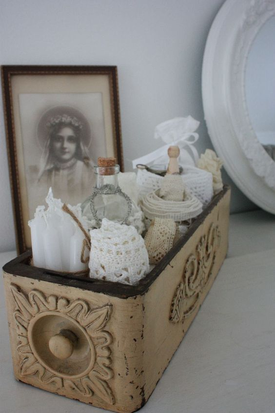 .Sewing machine drawer... bathroom items, bedroom dresser, desk.: