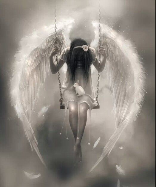 fantasy art angel sad - photo #28