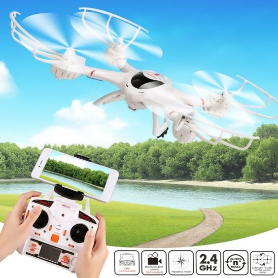 Model: X-400  Material: ABS  Recommend age: Above 14 years  Color: White  Fuel Source: Electric  Frequency: 2.4GHz  State of Assembly: Ready-to-Go  Channels: 4 Channels  Gross weight: 112g  Motor: Coreless motor  Overall height: 76mm  Fuselage length: 298mm  Main rotor diameter: 135mm  Remote Distance:150 Meters  Fly time: 9 minutes  Charging Time: About 120 Minutes  Quadcopter battery: 3.7V 750mAh Li-poly battery (included)  Controller Battery: 3 x AA batteries (not include)  Function…