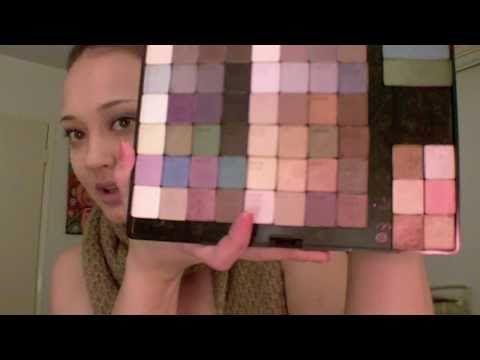 How I made my custom eyeshadow palette :) - NOT ME - her lol