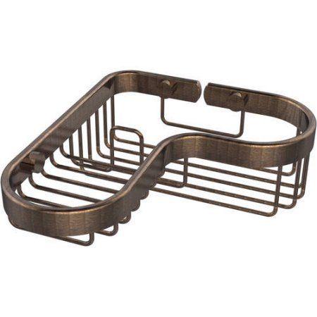Corner Combination Shower Basket (Build to Order)
