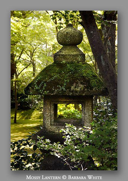 Japanese garden garden ornaments pinterest japanese for Japanese landscape lanterns