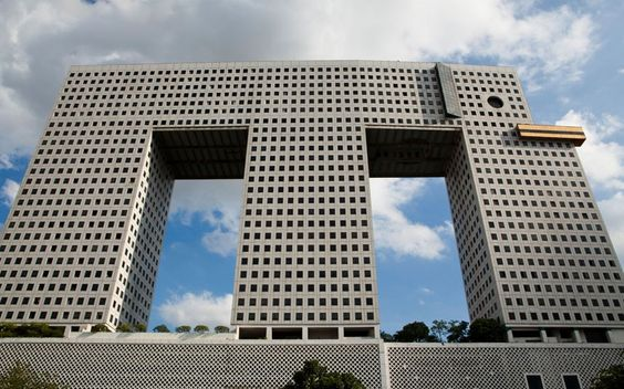 the elephant building in bangkok. thailand. = ) designed by sumet jumsai