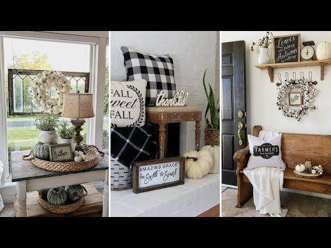 Diy Rustic Shabby Chic Style Fall Home Decor Ideas Home Decor Interior Design Flamingo Mango Youtube Home Decor Catalogs House Decor Rustic Home Decor