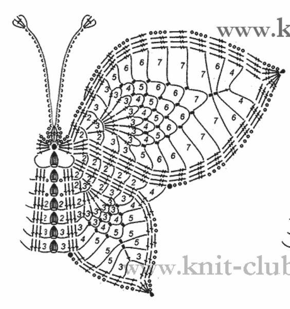 3  3 crochet butterfly patterns