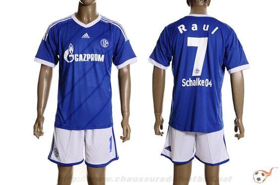 Schalke 04 Maillot Raul 7 Domicile 2012 2013 Ft9224 Adidas Soccer Jerseys Sport Outfits Sportswear