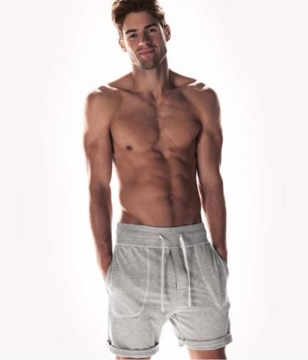 Cool kick it shorts. Just gotta get my body like that. H and the Perfect Men's Basics of Fall/Winter 2012-2013