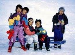 image - greenland: inuit children