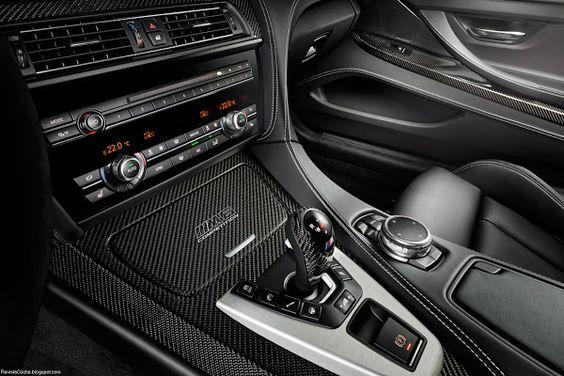 Interior  BMW M6 Coupe