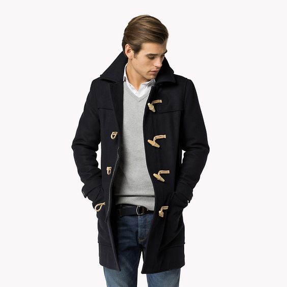 blue duffle coat blue jackets tommy hilfiger jackets tommy hilfiger. Black Bedroom Furniture Sets. Home Design Ideas