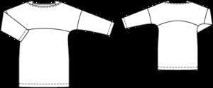 Burda Shirt mit Passe Gr. 44-52