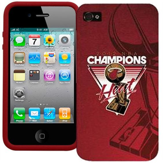 Miami Heat Champs iPhone 4 Cover