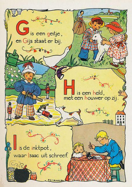 Marie (Rie) Cramer was een Nederlandse illustratrice, boekbandontwerper en schrijfster. (1887 - 1977):