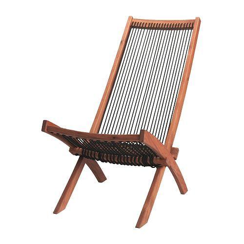 BROMMÖ foldable deck chair - IKEA