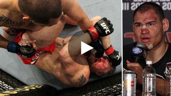 Brock Lesnar, champion UFC des poids lourds affrontait Caïn Velasquez, alors invaincu