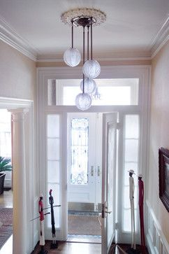 Entry ceiling fixture.