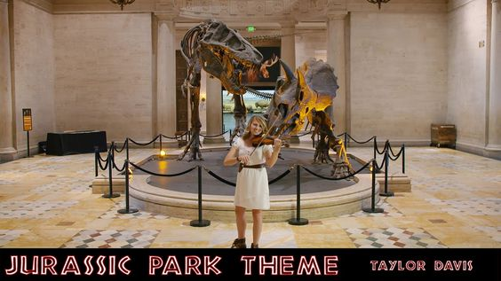 Jurassic Park Theme - Taylor Davis (Violin Cover)  Can I walk down the aisle to this?