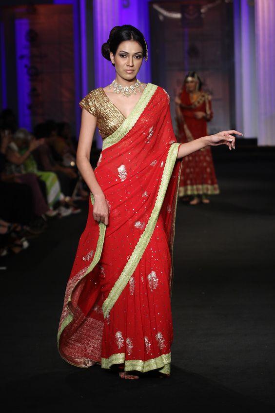 meera muzaffar ali couture collection at india bridal fashion week 2012 - Yamini Kumar Cohen Photo Mariage