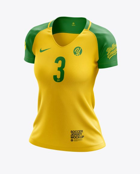 Download Women S Soccer Jersey Mockup Half Side View In Apparel Mockups On Yellow Images Object Mockups Clothing Mockup Shirt Mockup Women S Soccer