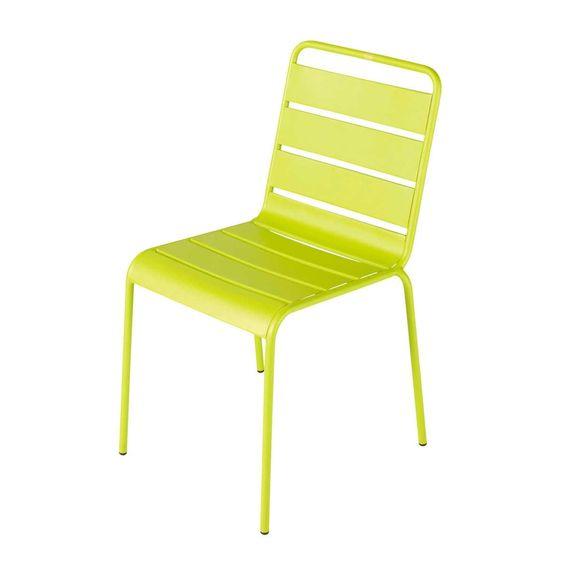 Gartenstuhl Metall taupe | Stühle | Pinterest | Gartenstuhl metall ...