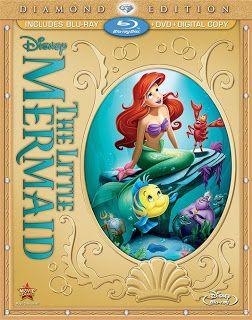 Little Mermaid Diamond Edition #giveaway Ends 10/2 US #TheLittleMermaid #disney