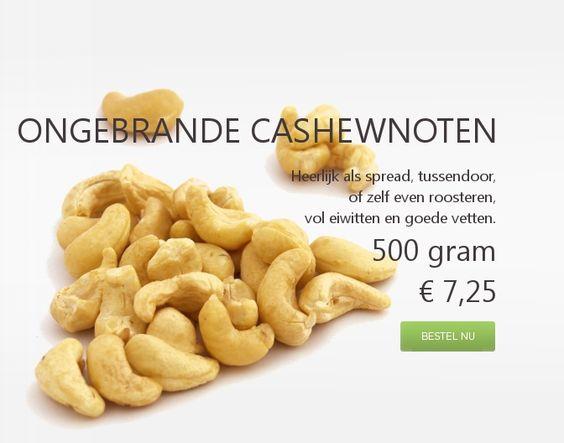 Noten en zuidvruchten online bestellen - Gezondenotenkopen.nl