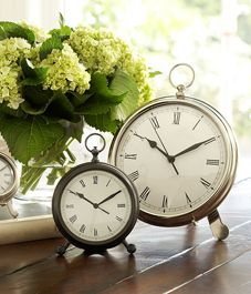 Pretty clocks