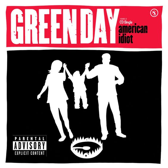 Green Day – American Idiot (single cover art)