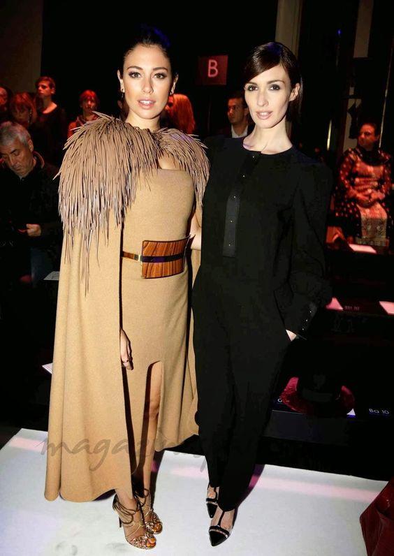 #BlancaSuarez de #StephaneRolland y #PazVega #Paris #Fashion #Week #Fall #Winter #2014 #FW2014 #Looks #Outfits #FrontRow #BOGUE