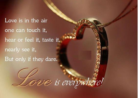 Love is Everywhere!!!  #LOVEisintheair #DesireTrueLove #DiamondCandles