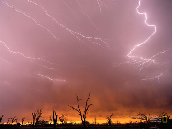Nuvens-relâmpago em Greensburg, Kansas