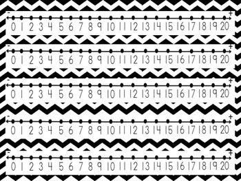 Free Printable Number Line Kindergarten - 1000 ideas about Number ...