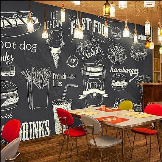 Pin De Sew Biz En Decorazioni Della Parete Cafe Decoracion Pared De Cafe Ideas Cafe
