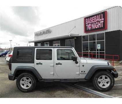 2008 Jeep Wrangler Unlimited X is a Silver 2008 Jeep Wrangler Car for Sale in Killeen TX