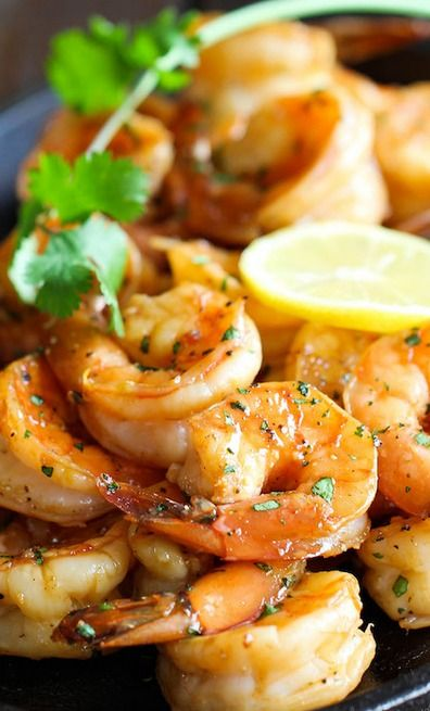 Shrimp, Lemon and Sweet